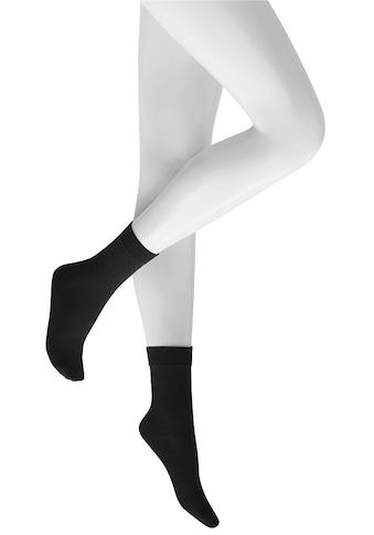 KUNERT Socken »Sensual Cotton«, mit extra hohem Baumwollanteil kaufen