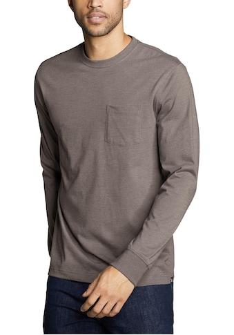 Eddie Bauer Langarmshirt, Legend Wash Pro - mit Tasche - Classic kaufen
