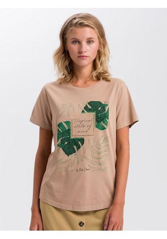 Cross Jeans® T-Shirt »55747«, Legeres Shirt mit Front-Print kaufen