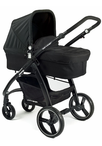 CHIC4BABY Kombi-Kinderwagen »Volare, schwarz«, inklusive Sportsitz; Kinderwagen kaufen