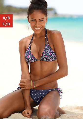 Buffalo Triangel-Bikini-Top »Evi«, im hübschen Mustermix kaufen