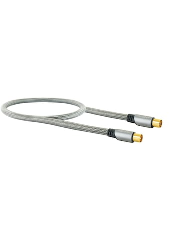 Schwaiger HDTV Antennenkabel, 4-fach geschirmt, 75 Ohm, vergoldete Stecker »mit... kaufen