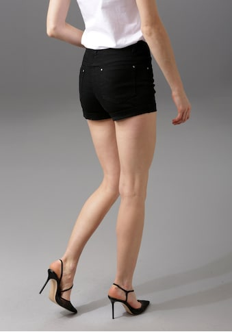 Aniston CASUAL Shorts, in pastelliger Farbpalette kaufen