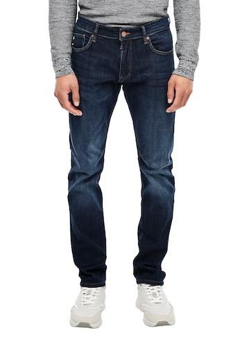 Q/S designed by 5-Pocket-Jeans, mit leichten Abriebeffekten kaufen