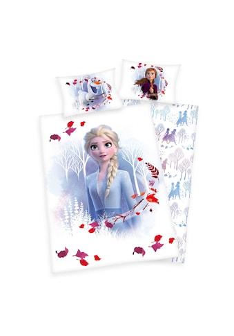 Walt Disney Babybettwäsche »Frozen, die Eiskönigin II, Baumwoll-Renforcé« kaufen