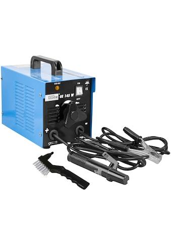 Güde Elektroschweißgerät »GE 145 W«, Absicherung, träge 16 A, max. Netzleistung 5 kVA kaufen
