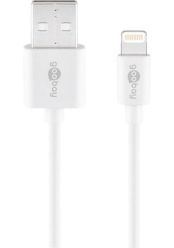 Goobay Lightning Kabel Apple zertifziert »USB Ladekabel für iPhone, iPad« kaufen