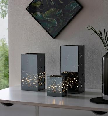moderne Windlichter