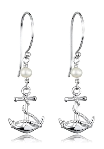 Elli Paar Ohrhänger »Anker Süßwasserzuchtperle Maritim 925 Silber« kaufen