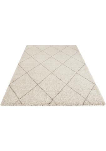 Hochflor - Teppich, »Belle«, Leonique, rechteckig, Höhe 35 mm, maschinell gewebt kaufen