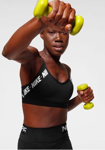 Nike Sport-BH »Nike Indy Women's Light Support Logo Sports Bra«, Mesheinsatz am Rücken kaufen