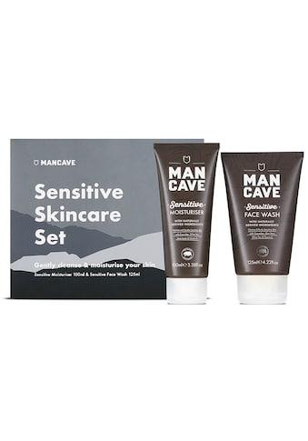 MAN CAVE Gesichtspflege-Set »Sensitive Skincare Set«, (Set, 2 tlg.), für empfindliche... kaufen