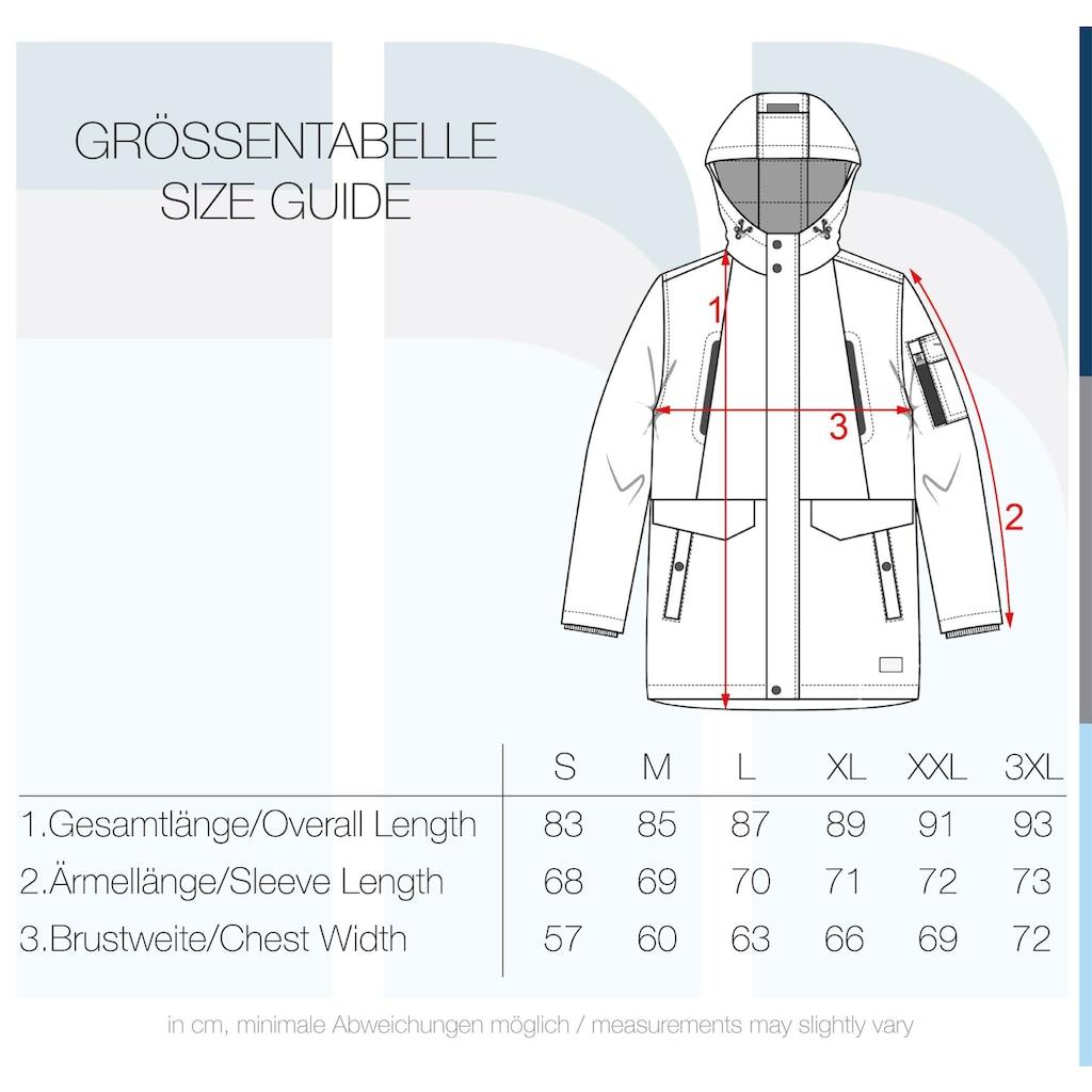 Solid Parka »Maver«, Gefütterte Winterjacke mit Kapuze und praktischen Taschen