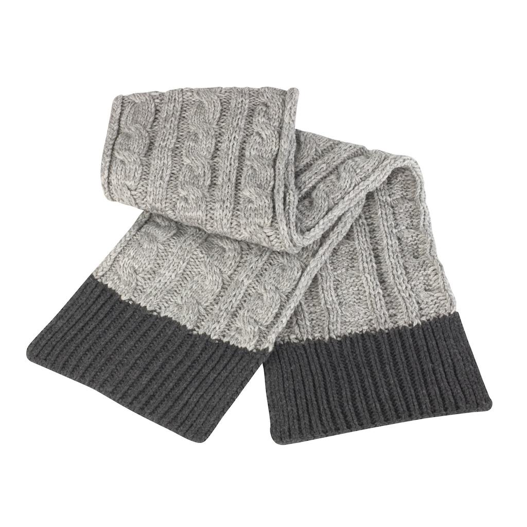 Result Strickschal »Unisex Shades of Grey Winter Schal«