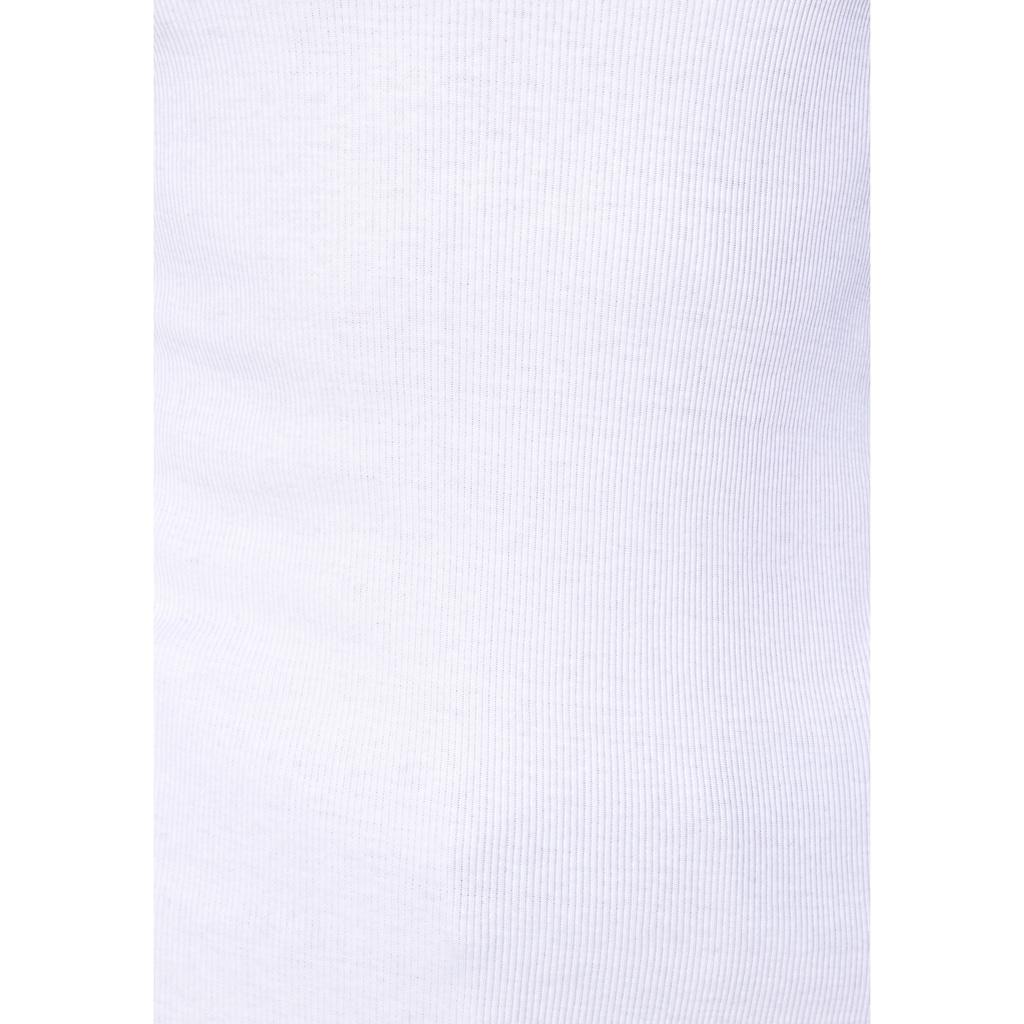 Flashlights Langarmshirt, mit gewelltem Abschluß
