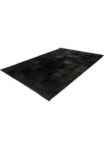 calo-deluxe Fellteppich »Rankel 205«, rechteckig, 5 mm Höhe, echtes Rinderfell, Wohnzimmer kaufen