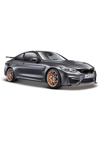 Maisto® Sammlerauto »BMW M4 GTS, 1:24, metallic grau«, 1:24, aus Metallspritzguss kaufen