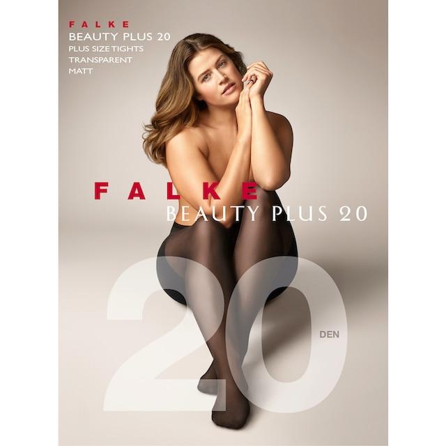FALKE Feinstrumpfhose Beauty Plus 20 DEN (1 Stück)