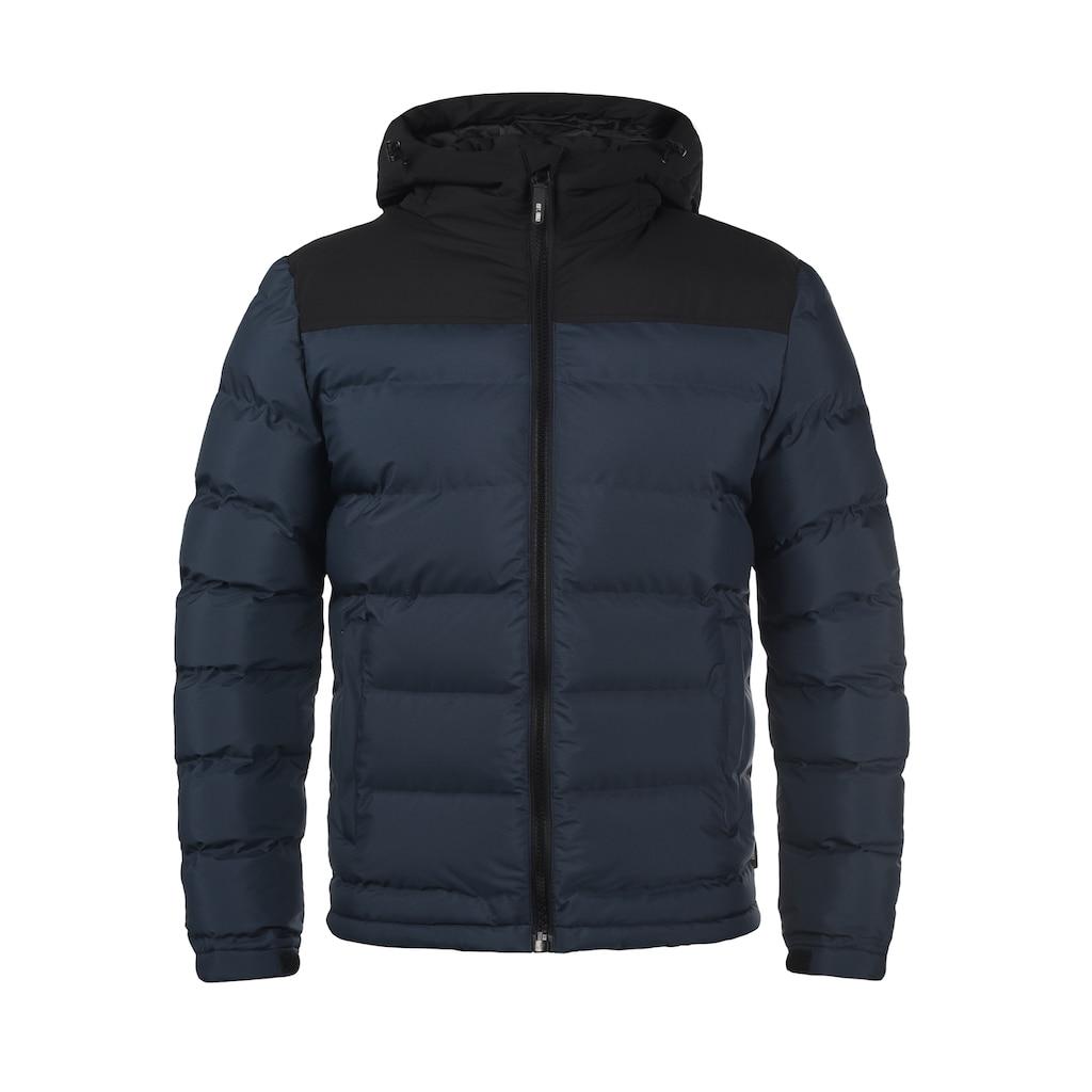 Indicode Steppjacke »Gaius«, warme Jacke mit hochabschließender Kapuze