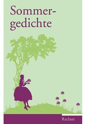 Buch »Sommergedichte / Evelyne Polt-Heinzl, Christine Schmidjell« kaufen
