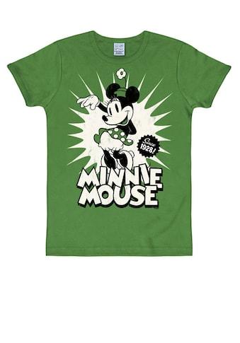 LOGOSHIRT T-Shirt »Minnie Mouse«, mit niedlichem Print kaufen