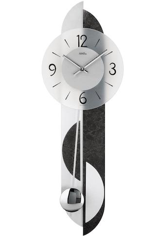 AMS Pendelwanduhr »W7299« kaufen