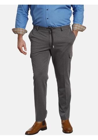 Charles Colby Cargohose »BARON IOLYN«, verstellbarer Bund, knitterarm kaufen