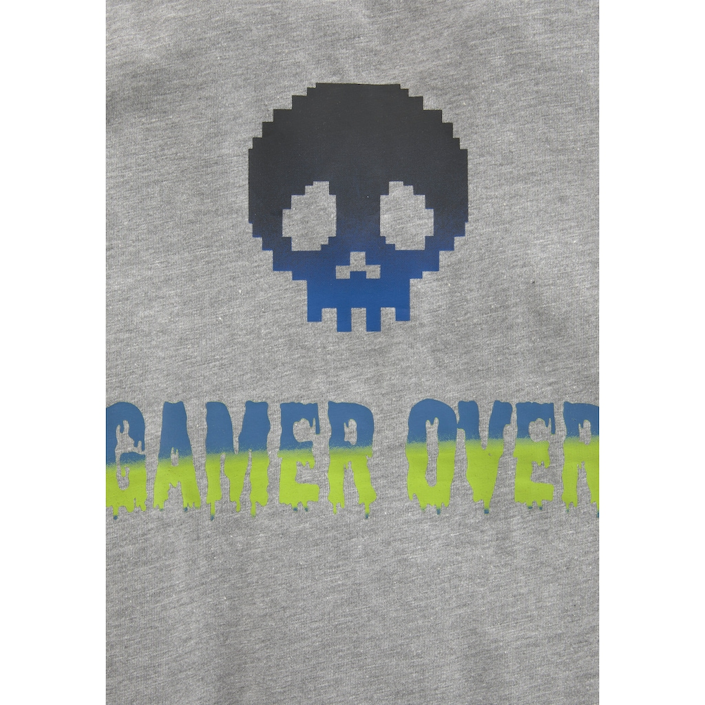 KIDSWORLD T-Shirt »GAME OVER/GAME ZONE«