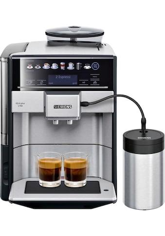 SIEMENS Kaffeevollautomat »EQ.6 plus s700 TE657M03DE«, inkl .isolierter Milchbehälter mit fresh-lock im Wert von UVP 49,90 € kaufen