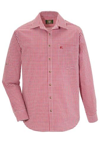OS-Trachten Trachtenhemd, im Karo-Look kaufen
