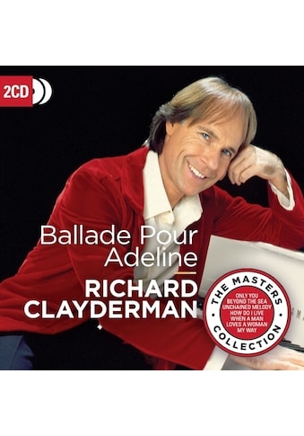 Musik - CD Ballade Pour Adeline (The Masters Collection) / Clayderman, Richard, (2 CD) kaufen