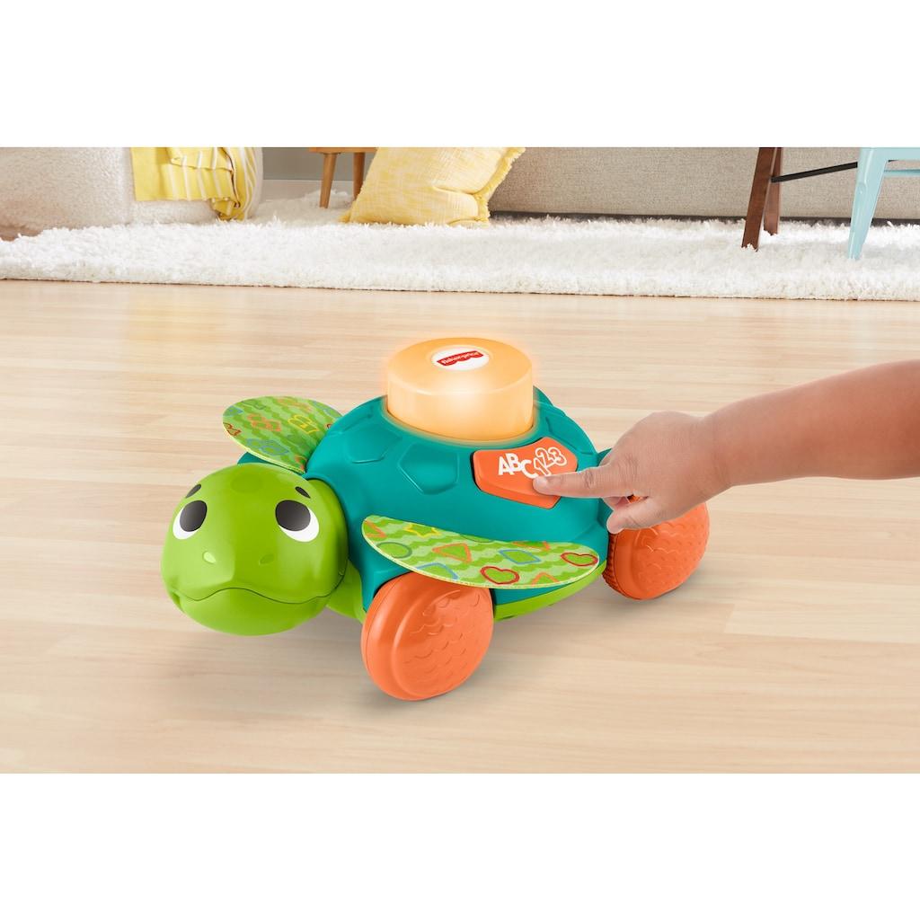 Fisher-Price® Lernspielzeug »BlinkiLinkis Meeresschildkröte«, mit Licht- und Soundfunktion