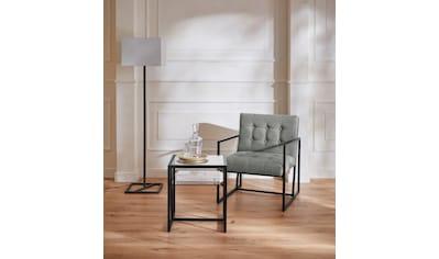 Guido Maria Kretschmer Home&Living Sessel »Silwai«, mit schönem vergoldetem... kaufen