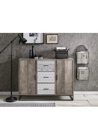 SIT Sideboard »Skandi«, mit dekorativem Muster kaufen