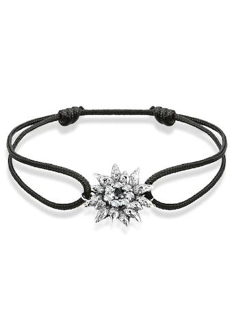 Elli Armband »Edelweiß Wiesn Tracht Kristalle Silber« kaufen