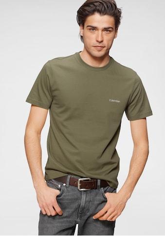 Calvin Klein T-Shirt »COTTON CHEST LOGO T-SHIRT« kaufen