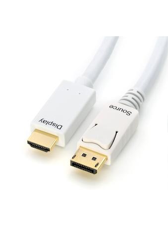 CSL HDMI-Kabel »mehrfach geschirmt | verschiedene Längen«, DisplayPort-HDMI, 200 cm kaufen