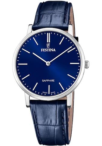 Festina Schweizer Uhr »Festina Swiss Made, F20012/3« kaufen
