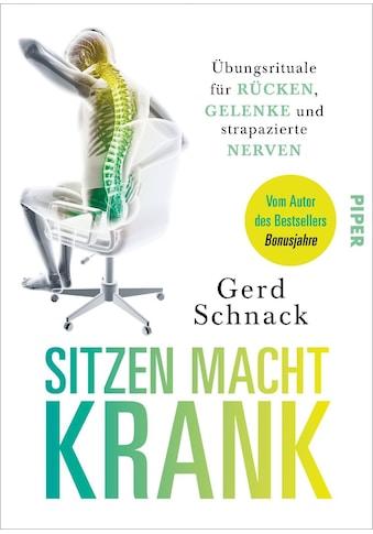 Buch »Sitzen macht krank / Gerd Schnack« kaufen