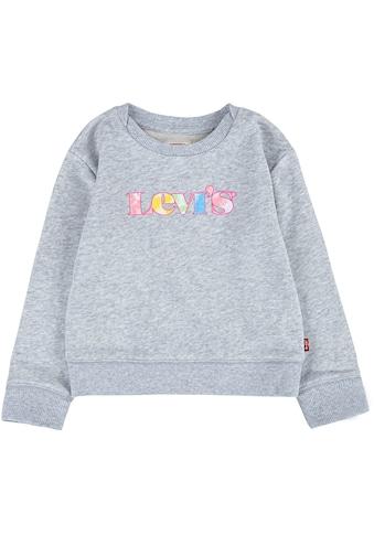 Levi's Kidswear Sweatshirt, mit Logoschriftzug kaufen