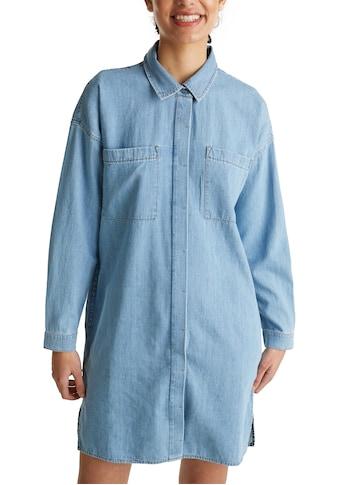 edc by Esprit Jeanskleid, mit aufgesetzten Taschen vorne kaufen