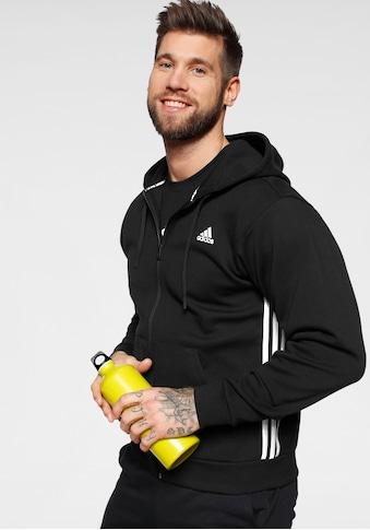 adidas Performance Kapuzensweatjacke »MUST HAVE 3 STRIPES FULL ZIP« kaufen