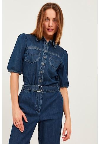 Pulz Jeans Overall »PZCASSI Jumpsuit 50206200«, Jeans-Jumpsuit mit Gürtel kaufen