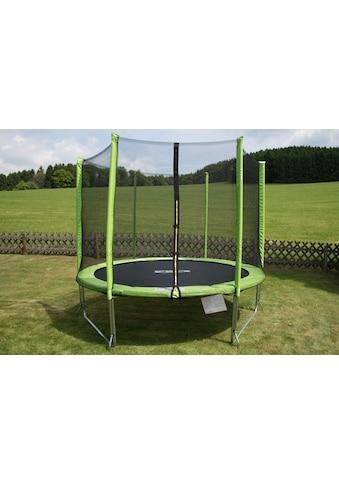 STAMM SPORTS Gartentrampolin, Ø 244 cm, (2), Anti-Roll-Over-Schutz, farbig verkleidete Netzpfosten kaufen