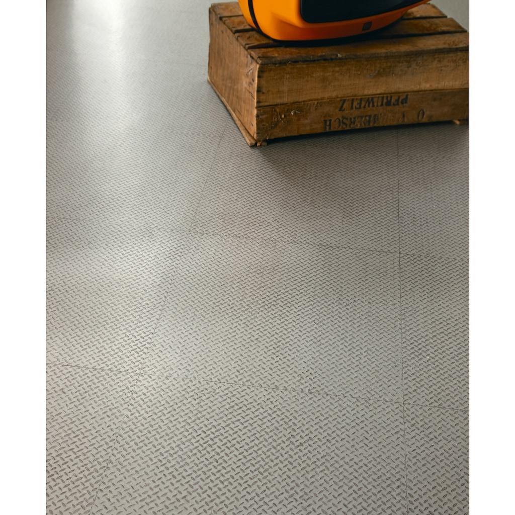 Andiamo Vinylboden »York«, Breite 200 cm, Meterware, Riffelblech-Optik