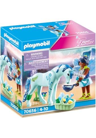 Playmobil® Konstruktions-Spielset »Einhorn mit Heiler-Fee (70656), Fairies«, (32 St.),... kaufen