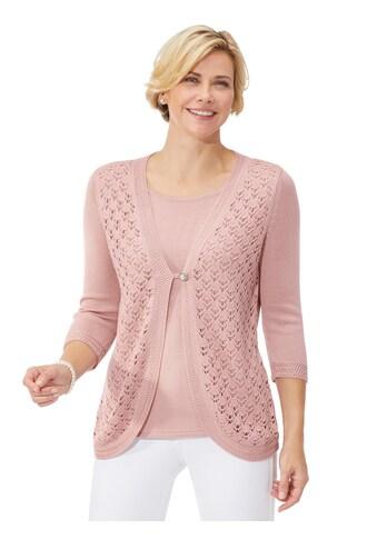 Classic Pullover in 2 - in - 1 - Optik kaufen