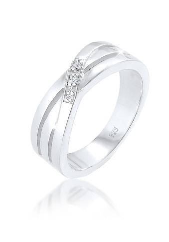 Diamore Diamantring »Cross Over Verlobung Diamant 0.015 ct. 925 Silber« kaufen