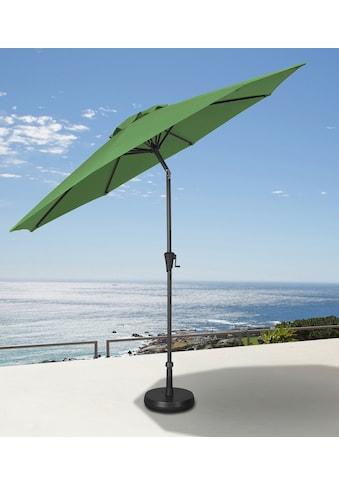 garten gut Ampelschirm, abknickbar, ohne Schirmständer kaufen
