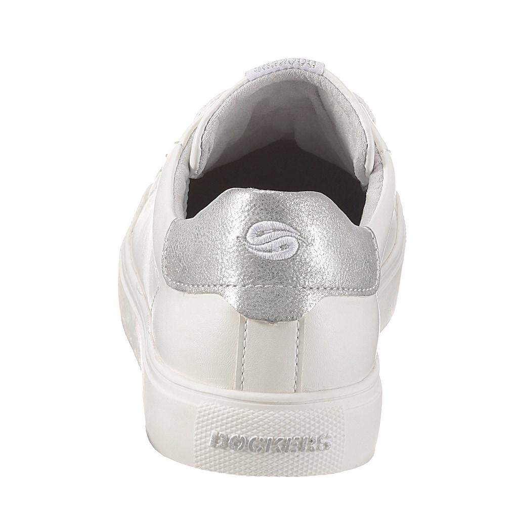 Dockers by Gerli Sneaker, mit Kontrastbesatz